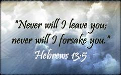 Hebrews 13:5 (joshtinpowers) Tags: bible scripture hebrews