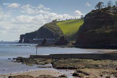 The Dawlish Coast (70C Photography) Tags: travel sea england canon landscape coast outdoor transport trains visit location devon 7d april 1785mm railways hst dawlish 2016 jamescummins