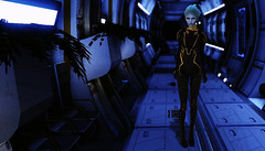 Matriarch Effect. (bad judgement & gin.) Tags: game alien secondlife future fi mass effect sci cyber