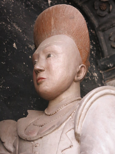 Effigy of Miss Grissell Barnardiston (d.1609)
