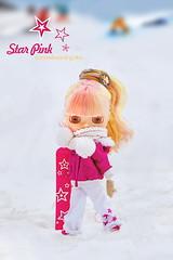 a snowboarding star!