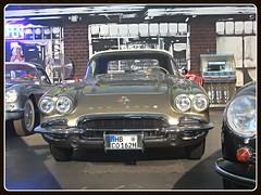 Chevrolet Corvette C1 Convertible, 1962 (v8dub) Tags: auto old classic chevrolet car germany deutschland 1 automobile c convertible automotive voiture chevy american oldtimer bremen oldcar corvette cabrio allemagne 1962 collector roadster cabriolet niedersachsen wagen pkw klassik worldcars