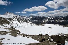 Mountain climbing in June ... (Desiree van Oeffelt) Tags: sky mountain snow mountains alps clouds canon schweiz switzerland climb skies suisse hiking swiss hike glacier climbing alpine alpen engadin graubnden grisons graubunden desireevanoeffelt
