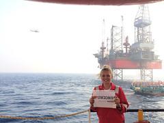 Nautilus member Hannah Rosson,  off the coast of Egypt (nautilus.international) Tags: photo competition international maritime members nautilus tuc heartunions