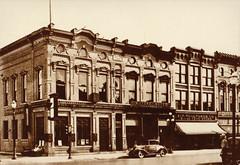 First National Bank Exterior, Original Building