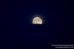 Super Moon Over the North Sea, Kirkcaldy