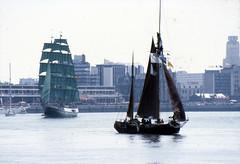 Alexander Von Humboldt (larry_antwerp) Tags: port sailing ship belgium belgi vessel 1993 antwerp schelde  antwerpen  schip                                   eurosail93 thecuttysarktallshipsrace
