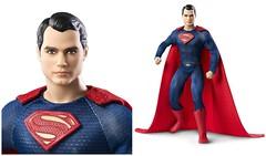Batman v Superman - Superman Doll (Bubbles C.) Tags: film comics dc doll ken barbie superman v batman articulated