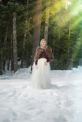 Snow Day!! (Anna L. Coleman) Tags: winter portrait mountain snow outdoors washington woods fairies edgy outdoorportrait outdoorphotography teenmodel themeshoot