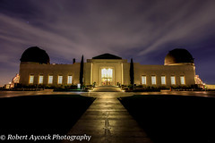 GRIFFITH OBSERVATORY (Robert Aycock) Tags: park county city travel blue sunset sky people urban orange mountain color building art tourism monument nature beautiful yellow skyline museum architecture night america sunrise buildings dark observation landscape outdoors photography lights star evening photo twilight education downtown glow cityscape view skyscrapers angle cloudy dusk space famous horizon scenic illumination nobody landmark scene science panoramic tourists structure illuminated business telescope research american hollywood dome destination planetarium astronomy visitors universe viewpoint mulholland built distant astronomer destinations