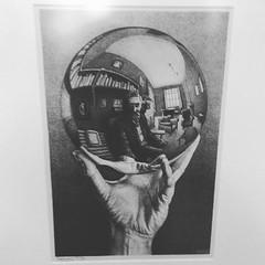 MC Escher Up Close (WookieBoogie) Tags: mc escher