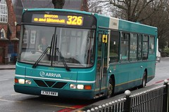 Arriva Midlands North DAF SB120/Wright Cadet 2739 (X783 NWX) (Wednesfield) (john-s-91) Tags: 2739 arriva bloxwich dafsb120 arrivamidlandsnorth wrightcadet route326 x783nwx