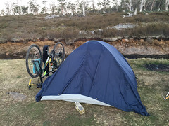 Cradle Mountain, Tasmania (Quench Your Eyes) Tags: park travel camping camp nationalpark australia tent tasmania aussie tassie campground biketour cradlemountain cradlemountainnationalpark