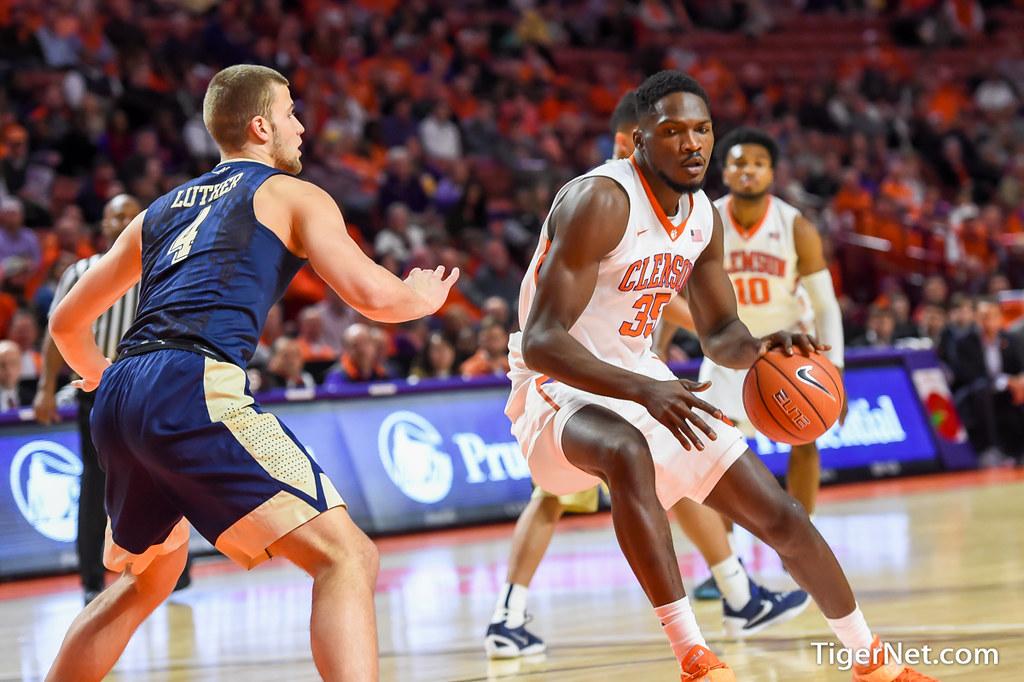 Clemson Photos: Basketball, 20152016, Landry  Nnoko