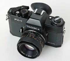 Yashica FX1 electro (bokina90) Tags: camera slr classic film 35mm vintage lens electro yashica find kamera collector yashinon