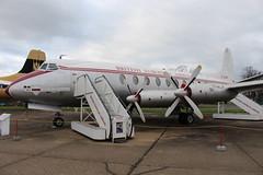 IMG_1172 (routemaster2217) Tags: bea aircraft duxford airliner turboprop imperialwarmuseum iwm propellerplane britisheuropeanairways rollsroycedart