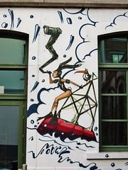 Mr. Mong, Mr. X, Time, Mad Juice & friends / SKI - 21 jan 2016 (Ferdinand 'Ferre' Feys) Tags: streetart graffiti belgium belgique time belgië urbanart graff ghent gent gand graffitiart mong mrx arteurbano artdelarue urbanarte mrmong madjuice