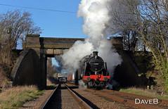 3rd February 2016. U class 31806 on the Great Central Railway. (Dangerous44) Tags: great central railway class goods steam u locomotive maunsell woodthorpe 31806