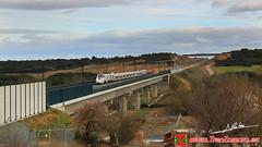 Puente del Guarea (Luis Corts Zacaras) Tags: tren puente via ave toro zamora ferrocarril renfe lav adif guarea alvia