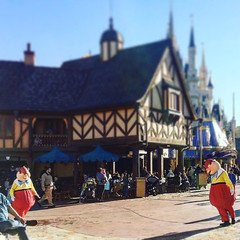 Tweetledeem and Tweetledum #AliceInWonderland #MagicKingdom #WDW... (Disney Cakes) Tags: world birthday castle cakes make cake frozen baking orlando princess disney mickey fl how minnie wdw pops walt