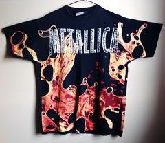 Rare Vintage '96 Metallica Load All Over Print T Shirt (shopthegasstation) Tags: old ladies girls art rock metal shirt vintage top album tshirt guys womens retro gasstation cover metallica mens jersey etsy thrash collectors heavy load tee unisex rare 90s jameshetfield bloodandsemen