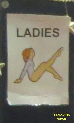 Phoenix toilet sign