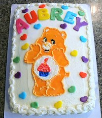 Care Bears cake by Katy, Linn County IA, www.birthdaycakes4free.com
