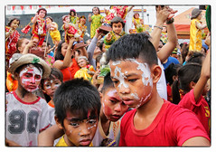 Sto. Nino Festival @ Tondo, Manila 2016 (Mio Cade) Tags: poverty street boy baby church girl festival children dance kid asia philippines jesus performance holy event manila ritual stonino santonino 2016 tondo