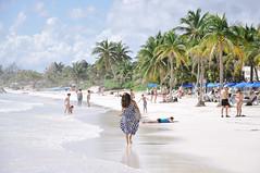 Playa Paraiso (marin.tomic) Tags: ocean travel summer vacation holiday seascape beach palms landscape mexico nikon paradise waves tulum beachlife palm explore caribbean d90 explored