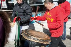 Roving Drummer (Andy Marfia) Tags: chicago drums iso100 chinesenewyear parade uptown drummer drumming lunarnewyear f63 yearofthemonkey argylest 1640sec d7100 1685mm