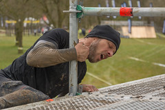 strength (stevefge) Tags: people men netherlands sport mud nederland strength viking challenge berendonck nederlandvandaag reflectyourworld strongviking
