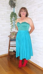 Silk Skirt (Trixy Deans) Tags: cute sexy classic t tv boots cd crossdressing tgirl tranny transvestite corset transgendered crossdresser crossdress sexylegs transsexual classy shemale trixy cocktaildress sexyblonde tgirls shemales xdresser transvesite sexyheels silkskirt trixydeans sexytransvestite