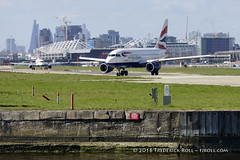 British Airways A318 ~ G-EUNB ( Freddie) Tags: london airbus londoncityairport ba1 newham e16 a318 lcy royaldocks eglc runway27 speedbird1