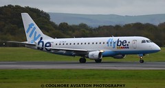 2014_10_25_MAN0137 (COOLMORE PHOTOGRAPHY) Tags: man manchester airport aircraft airliner airliners manchesterairport embraer egcc flybe embraer175 e175 gfbjf
