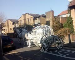 Carriage (celesteh) Tags: uk england london carriage cinderella stepneygreen