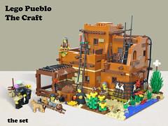 Lego Pueblo A1 (giorgio.chronas) Tags: arizona verde america mexico lego native pueblo western taos ideas acoma mesa zuni