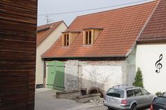 Barn at Hauptstrae 88 in Zell am Main (Bjrn S...) Tags: bayern bavaria franconia franken zell baviera franconie bavire hauptstrase zellammain zellamain hauptstrase88