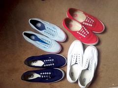 My little collection of these plimsolls. Which pair is the best ? (eurimcoplimsoll) Tags: