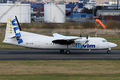 OO-VLM (GH@BHD) Tags: aircraft aviation airliner vg turboprop f50 fokker vlm egac bhd belfastcityairport vlmairlines oovlm