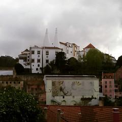Palcio Dona Maria (leonilde_bernardes) Tags: sintra historia palacio chemines