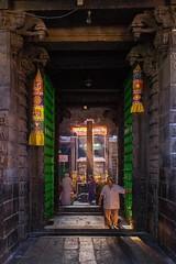 Gateway to... (rameshsar) Tags: travel colors temple fuji chennai religio 1655 triplicane xt1 parthasarathytemple