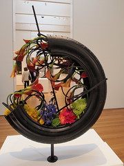 P4080129 (photos-by-sherm) Tags: flowers sculpture art museum painting nc spring north raleigh carolina works bloom abstracts