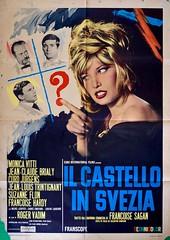 La Castello In Svezia (1963) Monica Vitti (arizonacat) Tags: poster la italian comedy monica castello manifesto 1963 jeanclaude in svezia jeanlouis vitti trintignant brialy