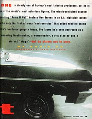 Moving Target article about Dr Dre page 02 (Paxton Holley) Tags: music ice vintage advertising dr ad mc e cube ren hip hop rap nwa dre eazy