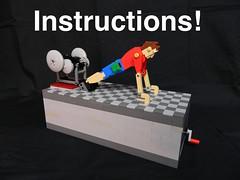 Push-Up Patrick (Instructions) (Jason Corlett) Tags: lego instructions automata
