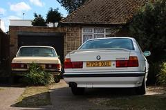 H725 XUL (Nivek.Old.Gold) Tags: auto mercedes se 200 cooper bmw 1990 bishopsgate 525i w123