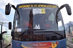 YJ16EKY  ''Dales Viscount''  Bibbys, Ingleton (highlandreiver) Tags: bus tower coach yorkshire rally north lancashire safari blackpool coaches dales ingleton eky temsa bibbys yj16 yj16eky