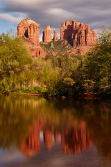 Cathedral Rock Reflections (another_scotsman) Tags: longexposure arizona reflections river landscape sedona cathedralrock redrockcrossing greatphotographers