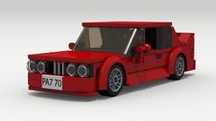 BMW M3 (E30) (LegoGuyTom) Tags: auto city classic cars car digital speed vintage germany europe european lego pov designer german legos download bmw 1980s coupe 1990s dropbox speedster povray ldd lxf i6 legocity legodigitaldesigner