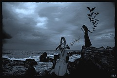 Dark symphony (alexandra wardark) Tags: darkness gothic sl fantasy secondlife